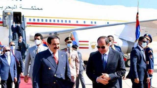 عاجل.. السيسي وملك البحرين يبحثان آخر تطورات قضية السد الأثيوبي