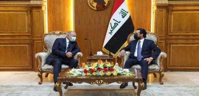 عاجل.. أبو الغيط يستقبل رئيس مجلس النواب العراقي