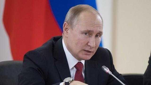 «بوتين»: روسيا بحاجة للعمل مع طالبان