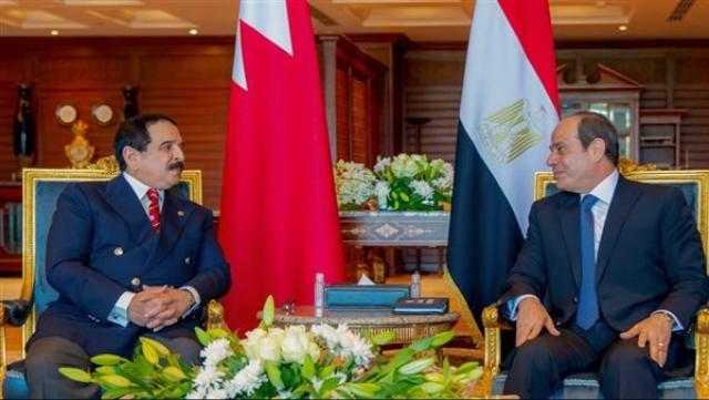 البرلمان العربي يثمن لقاء الرئيس السيسي وعاهل البحرين في شرم الشيخ