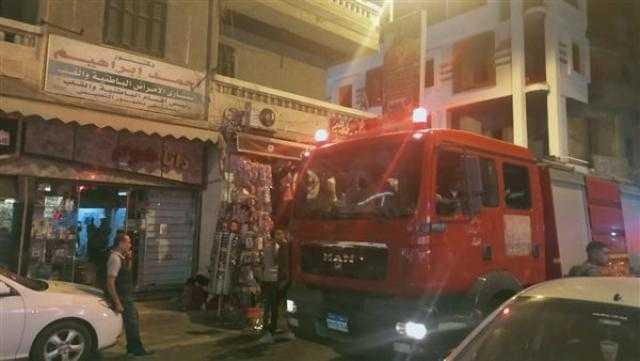 إصابة 7 في حريق هائل بمصنع زجاج بالعاشر.. تعرف على هويتهم