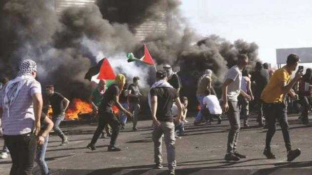 عاجل.. إصابة فلسطينيين فى مواجهات مع قوات الاحتلال بالضفة الغربية