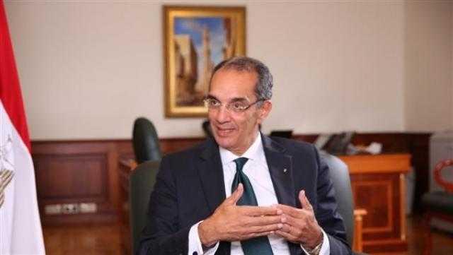 وزير الاتصالات: 3.3 مليون مواطن سجلوا على منصة مصر الرقمية