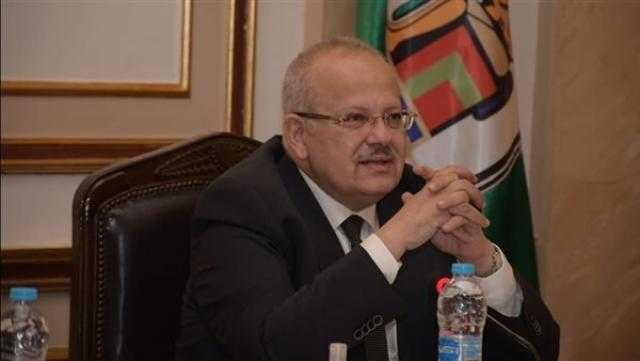 الخشت: جامعة القاهرة الدولية ستدخل العمل بداية العام الجامعي 2022