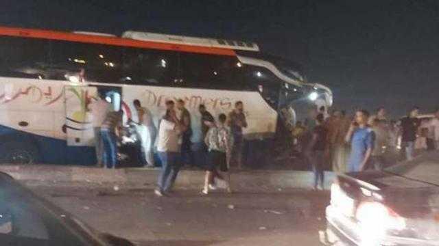 عاجل.. 21 إصابة في حادث أتوبيس الإسكندرية