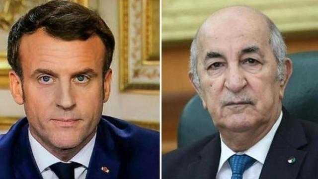الرئيس الجزائري ونظيره الفرنسي يبحثان هاتفيًا سبل تطوير العلاقات الثنائية