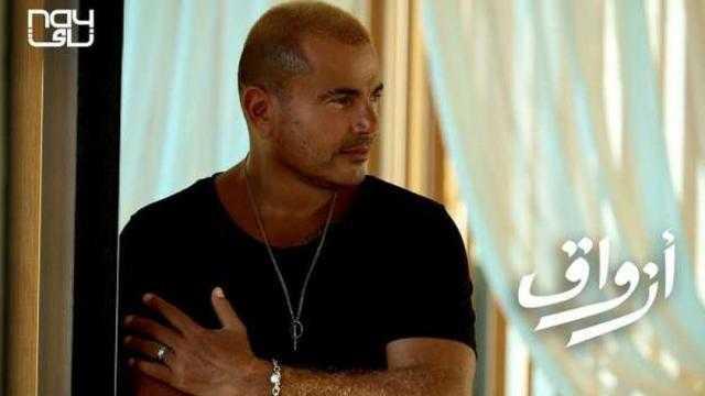 صدمة.. خطأ إملائي في البوستر الدعائي لأغنية عمرو دياب الجديدة