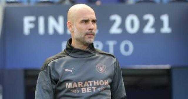 جوارديولا يعلن تشكيل مانشستر سيتي لمواجهة وايكومب