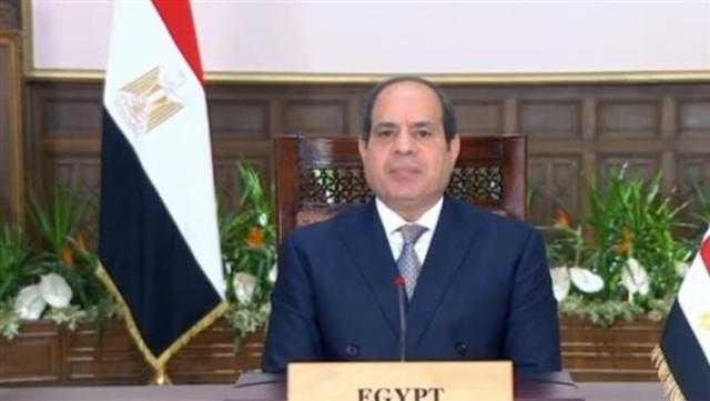 السيسي: مصر حريصة على تصدير لقاحات فيروس كورونا إلى الدول الإفريقية