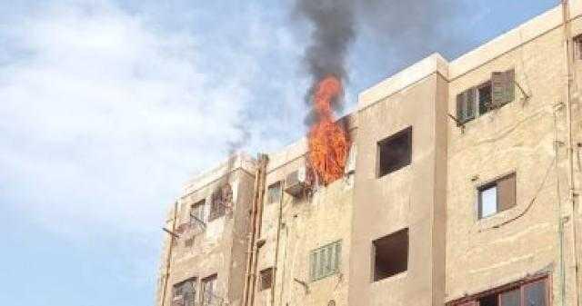 عاجل.. إخماد حريق شقة سكنية فى الحوامدية دون إصابات