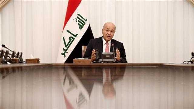 الرئيس العراقي: ضمان الانتخابات ونزاهتها أولوية قصوى