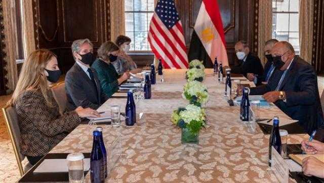 عاجل.. وزير الخارجية الأمريكية يعلق على لقاء سامح شكري