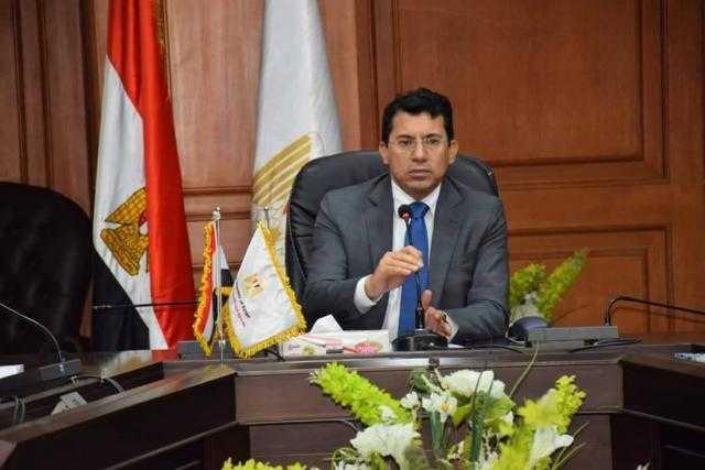 وزير الرياضة: الوزارة على مسافة واحدة من كافة المرشحين بالانتخابات