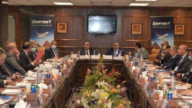 مصر للطيران: نحرص على تطبيق مفهوم الجودة الشاملة بكل أنشطة الشركة