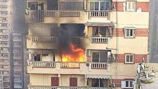 عاجل.. مصرع شخصين في حريق عقار شرق الإسكندرية