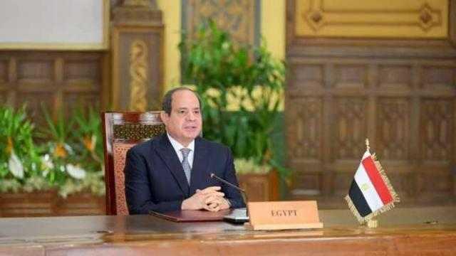 السيسي: مصر تعتزم مواصلة العمل مع الأشقاء الأفارقة لمواجهة المجاعات