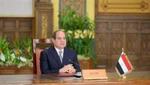 السيسى: مصر انضمت إلى تحالف التغذية المدرسية اقتناعًا بأهمية توفير الغذاء