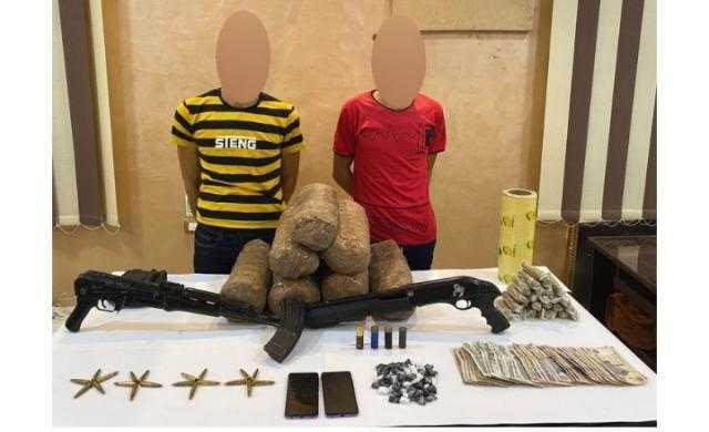 الداخلية: ضبط 15,200 من مخد البانجو في الدقهلية