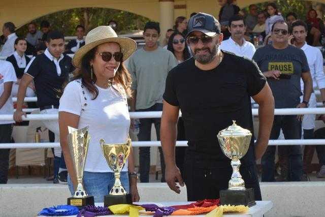 بالصور.. أحمد السقا يحضر مباراة تدريبية أقامها اتحاد الفروسية