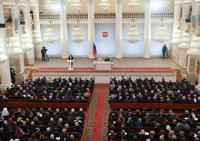 حزب بوتين يفوز بأغلبية مقاعد البرلمان الروسي
