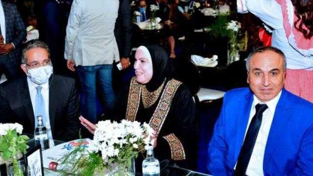 وزيرة التجارة تفتتح المهرجان الثقافي الدولي الأول للتذوق جوتيه