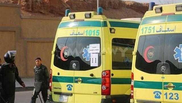 إصابة أم و3 من أطفالها بتسمم غذائي في بني سويف