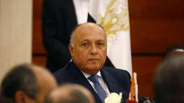 شكري: ضرورة تنمية العلاقات المصرية الأمريكية للحفاظ على أمن المنطقة