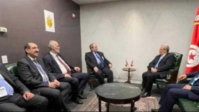 تونس: نريد استعادة سوريا لدورها العربي ومكانتها الطبيعية إقليميا ودوليا