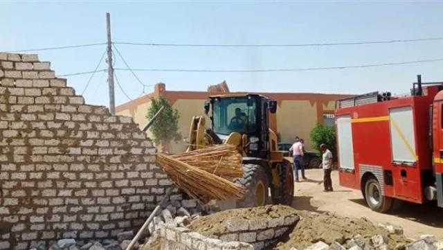 إزالة 52 حالة تعدٍّ بمساحة 15000 متر مربع بالإسماعيلية