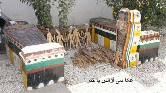 عاجل.. الآثار عن سيناريوهات التعامل مع التماثيل الفرعونية بأفغانستان