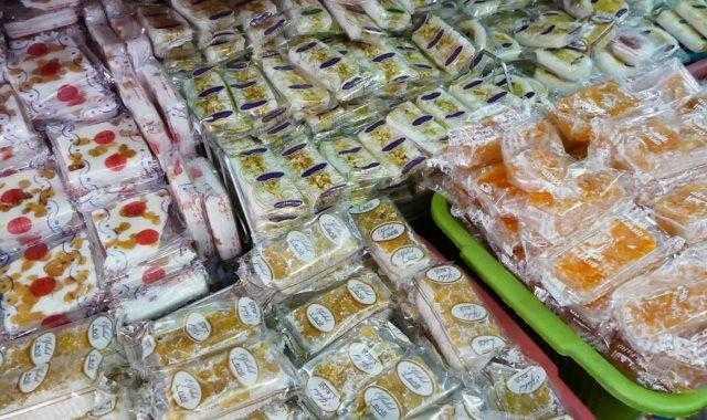 ضبط 1000 قطعة حلوى مجهولة الصنع في بورسعيد