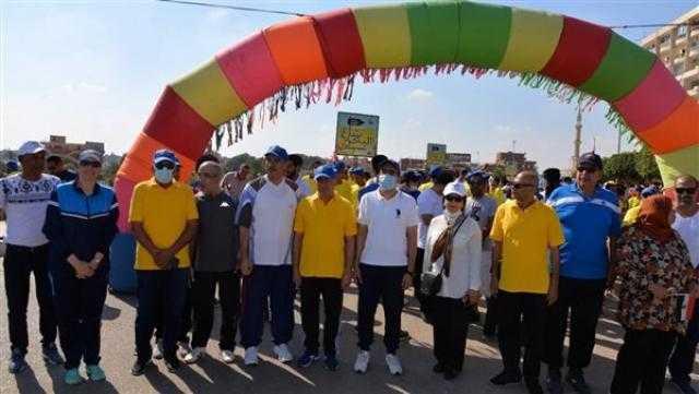 محافظة الإسماعيلية تنظم ماراثون للمشي احتفالًا باليوم العالمي للسياحة