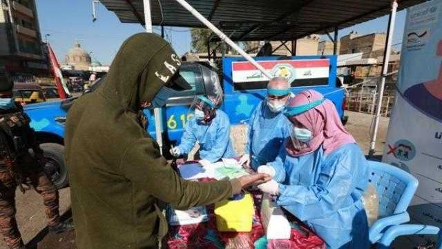 32 وفاة و2447 إصابة جديدة بفيروس كورونا في العراق