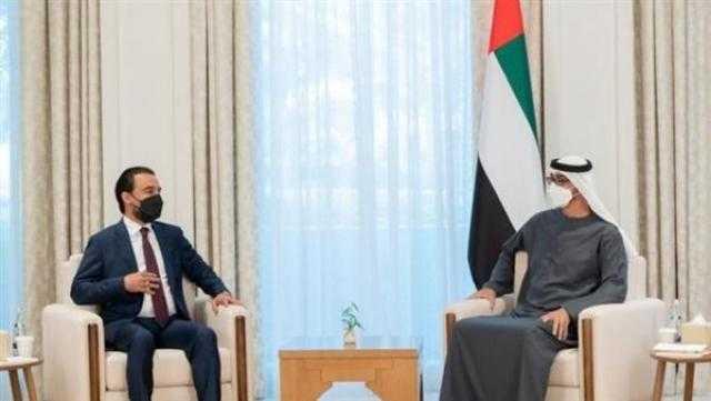 عاجل.. محمد بن زايد ورئيس النواب العراقي يبحثان علاقات البلدين