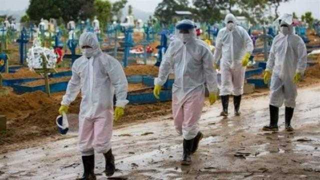 البرازيل تسجل 8668 إصابة جديدة و243 وفاة بكورونا