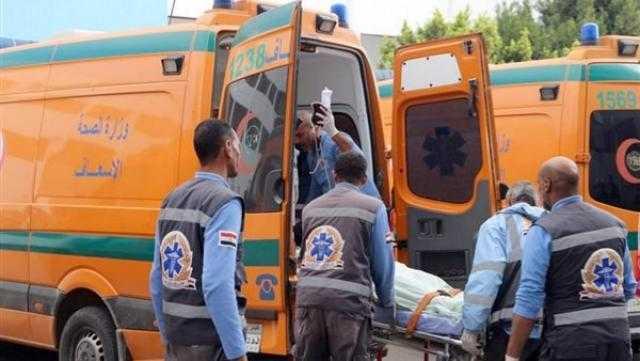 عاجل.. مصرع وإصابة 6 بحادث تصادم في أبو المطامير