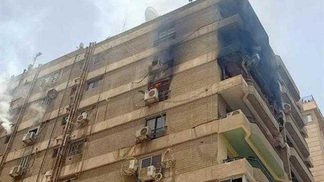 عاجل.. السيطرة على حريق شقة سكنية بمصر الجديدة