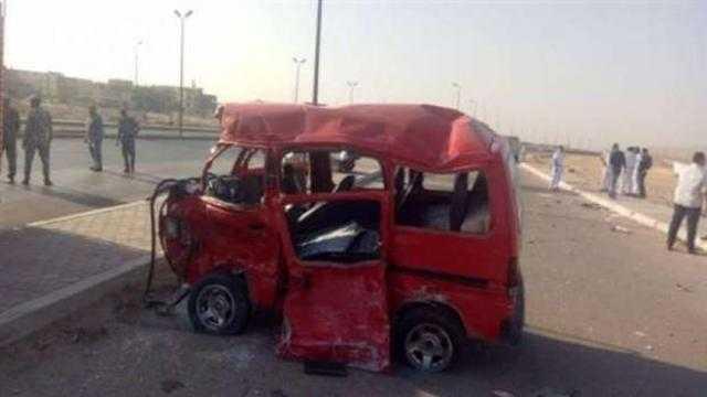 عاجل.. إصابة 7 بينهم 3 أطفال من أسرة واحدة في حادثين بالأقصر