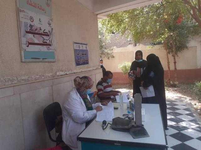 إجراء الكشف الطبي لـ2678 مواطنًا بقريتين في أسوان.. تفاصيل