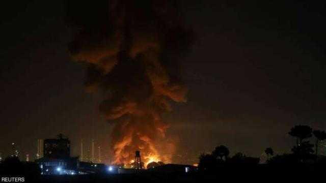 اندلاع حريق في مصفاة نفط بالكويت