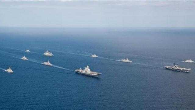 الاتحاد الأوروبي واليابان يجريان تدريبات بحرية قبالة سواحل خليج عدن وبحر العرب
