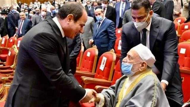 أحمد عمر هاشم لـ السيسي: أكرمه الله على الدعم المعنوي للعلماء
