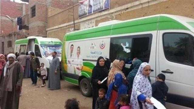 وزارة «الصحة» تطلق 4 قوافل طبية جديدة في عدد من المحافظات