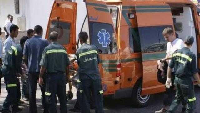 عاجل.. مصرع شخص وإصابة 7 آخرين في حادثي تصادم بالقليوبية