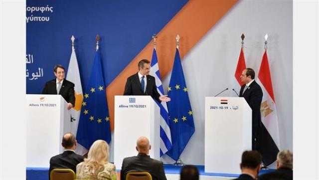 مصر واليونان وقبرص يطالبون تركيا بالامتناع عن الاستفزازات