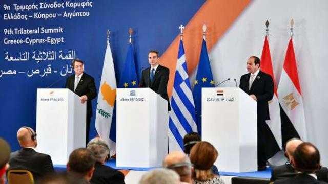 بعد القمة الثلاثية.. تفاصيل خطوط الغاز والكهرباء بين مصر واليونان وقبرص