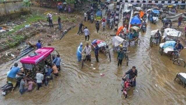 عاجل.. مصرع 34 شخصا إثر فيضانات في الهند