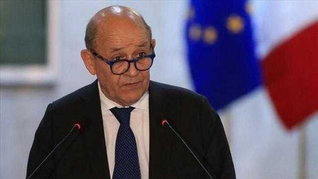 وزير خارجية فرنسا يشارك فى اجتماع بطرابلس لتعزيز المرحلة الانتقالية الليبية