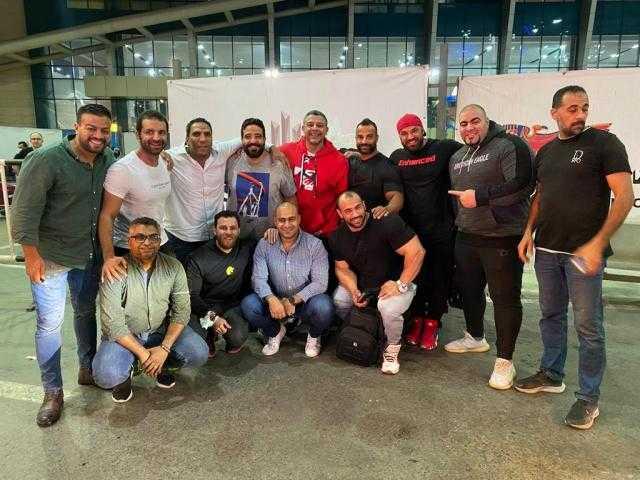 محمد شعبان والورداني يصلان القاهرة للمشاركة في أولمبيا مصر