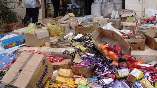 ضبط 17 طن مواد غذائية داخل مصانع بالشرقية.. اعرف التفاصيل
